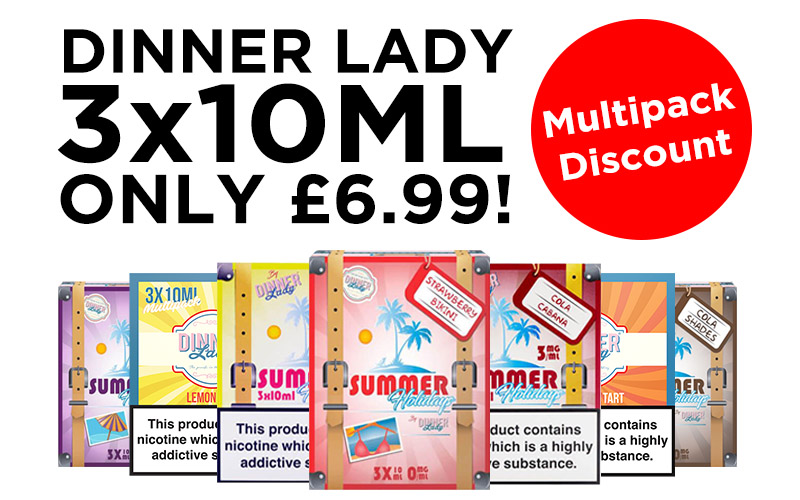 Dinner Lady and Summer Holidays Multipacks - £6.99 each at TABlites.com