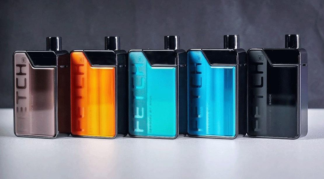 SMOK Fetch Pod Kit UK colours