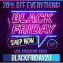 Black Friday 20% Off