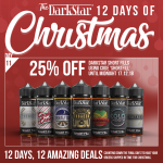 25% OFF ALL DARKSTAR 120ML SHORT FILLS!