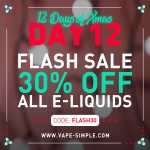 30% All E-Liquids – Cheap Thrills, Wonutz, Solt Nic and many more.