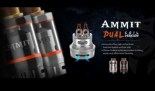 Geek Vape Ammit Dual Coil Rta only £14.99 – Free Delivery on all orders over £30