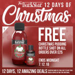 FREE Christmas Pudding Bottle Shot with orders over £25!