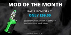 IRONFIST KIT WITH 2 X 50ML BOTTLES FOR £69