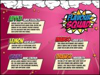 The Flavour Squad 100ml Shortfills inc Shots only £5.99