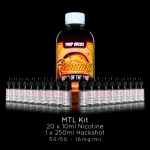 Drip Hacks Nic Salt DIY E-Liquid Starter Kit – Make 250ml for £23.39