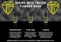Vaping with Twitch £4 Mega Deal