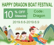 Vapesourcing 10% off Happy Dragon Boat Festival Sale!