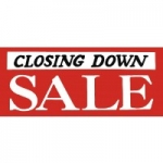 50% OFF Closing Down Sale