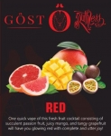 Red by Gost & Ruthless eliquid 6 x 10ml – 3mg