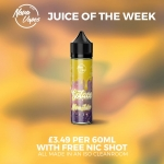 JOTW Solace (Lemon Cheesecake) – £3.49 per 50ml + a FREE 10ml nicotine shot! FREE UK delivery over £14.99.