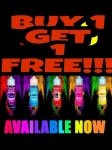 BUY 1 GET 1 FREE !!! FREE NIC SHOTS INCLUDED