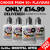 £14.99 Delivered 4x60ml Shortfill Deal + Free Nic Shots