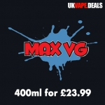 4x100ml £23.99 at MaxVG.net, Free Delivery, Choice of Bundles!