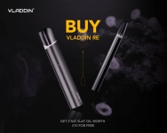 Vladdin Pod System Kit – Free 2 X 10ml Nic Salts – Promotion Sale – First 20 Kits ONLY