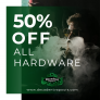 50% OFF All hardware at Decadent Vapours