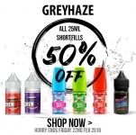 All 25ml Shortfills – Half Price – 50% Off
