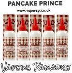 Pancake Prince 100ml Shortfill only £7.99 inc shots