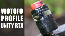 Profile Unity RTA by Wotofo – With Extended Glass Only £24.99