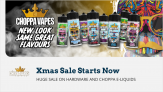 Choppa E-liquid Sale – Use Code Xmas25