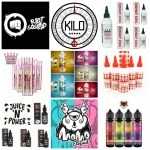 fantastic selection of liquids 60ml-120ml Shortfills inc shots only £7.99