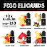 7030 E-Liquids 10 for £10 at TABlites