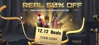 Vapesourcing 12.12 Sale & Sitewide Coupon & Half-Price Deals