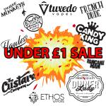 Under £1 10ml E-liquid Sale Popular Brands!