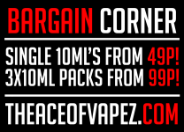 10ML'S FROM 49P! 3x10ML's FROM 99p!