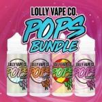 Big Deal – Lolly Vapes Co Pops Range – 4 Bottles – 100ml each – £19.99