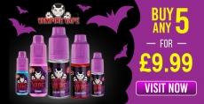 Offer! Buy Any 5 Vampire Vape 10ml in just £9.99 – VapingPro.co.uk