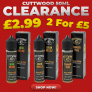 Cuttwood 50ml Short Fills – £2.99 or 2 For £5
