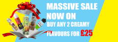 Buy any 2 dessert flavours for £25 pick & mix across all the brands