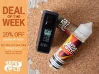 Buy One Get One Free Short Fills! 20% Off GeekVape Aegis