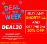 Buy any 1 Shortfill get the 2nd 30% OFF!