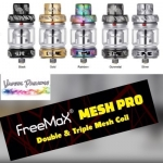 Freemax Mesh Pro Tank With 6ml Bulb Glass – Metal Edition Only £21.99
