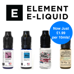 Selected Element E-Liquids just £1.99 for 10mls! – TABlites