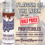 Sweet Vapes Flavour of the Week – PROFITEROLES 50ml £3.02