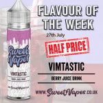 VIMTASTIC 50ml £3.02 – Sweet Vapes Flavour of the Week