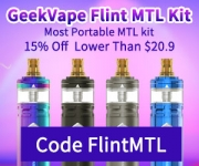 GeekVape Flint 15% OFF
