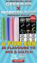 Extended24hrs – 4 For £20 on Geekbar & Moreish Puff Air Bar! (Mix&Match)
