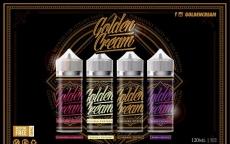 Golden Cream E Liquids – Multipack 3 Bottles 360ml