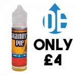 Granny's Pie: Peach Cobbler – 50ml for ONLY £4.00!! Limited Stock