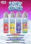 – 48% On RRP – Snow Cones – 50ml Shortfill 70/30