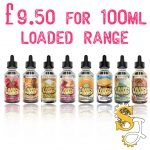 LOADED 100ML Shortfills under £10!
