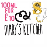 Mary's Kitchen 100ML Shortfills HALF PRICE!