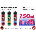 ⚡️ *SPECIAL OFFER* – 150ML ELIQUID FOR £15.00 ONLY! ⚡️