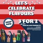 Northland Vapor – Buy 2 Get 1 Free!