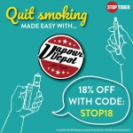 18% Off over the Stoptober period