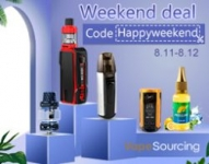 Vapesourcing Weekend Sale – 10% Discount For Special Products